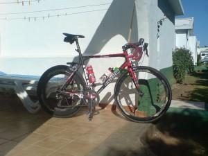 Sykkel ferdig montert